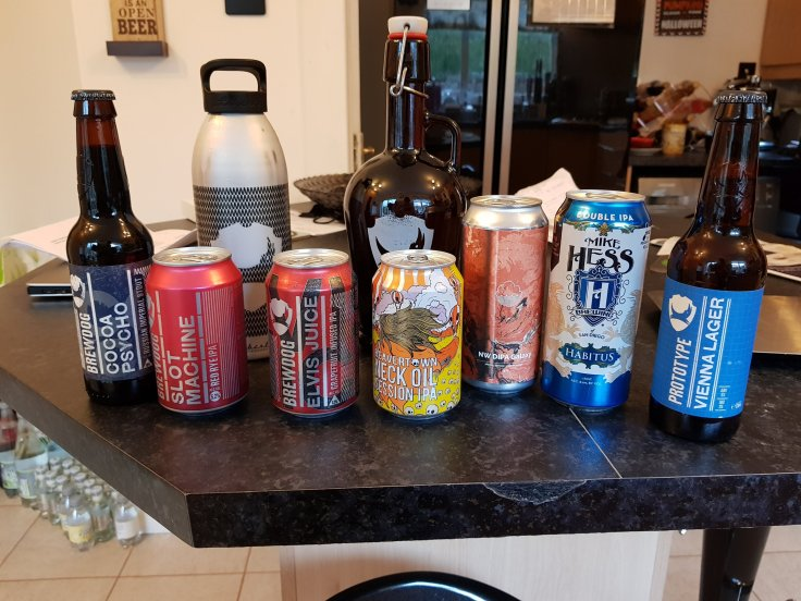 Collabest beer run haul