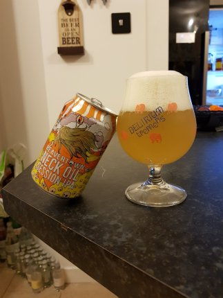 Neck Oil Session IPA by Beavertown