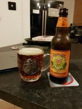 I absolutely love this glass - and the beer in it too wasn't too bad either!