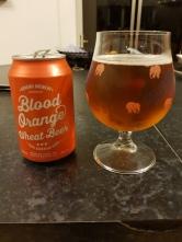 Adnams Brewery Blood Orange Wheat Beer