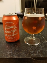Adnams Brewery Blood Orange Wheat Beer