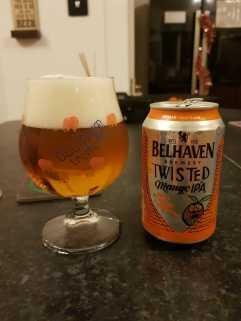 Belhaven Brewery Twisted Mango IPA