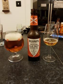 Belhaven Speyside Oak Aged Blone Ale