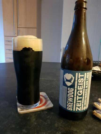 BrewDog Zeitgeist Black lager