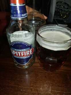 Sheperd Neame Spitfire amber kentish ale