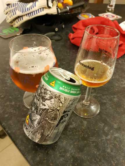 Wolf Warning Double Brew Lager