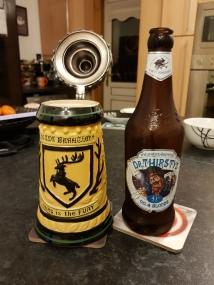 Wychwood Brewery Dr Thirsty No 4 blonde
