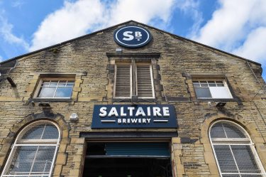 Saltaire Brewery PR photoshoot, Shipley, UK - 15 Aug 2018