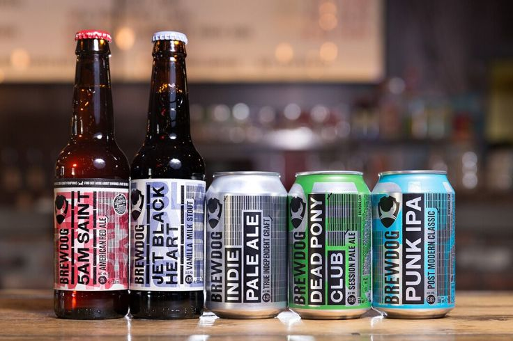Brewdog selection