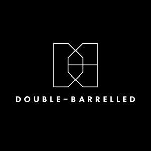Double Barrelled B_Center_White